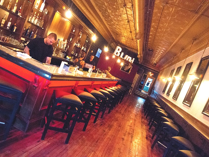 The Blind Buck\'s interior features a throwback feel. - JENNIFER DEBARROS