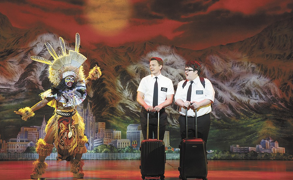 The Book Of Mormon played to a full house during its run at the INB Performing Arts Center.