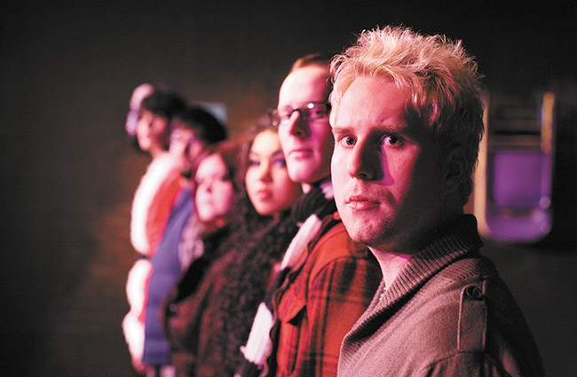 The cast of Lake City Playhouse's 2011 production of Rent. - YOUNG KWAK
