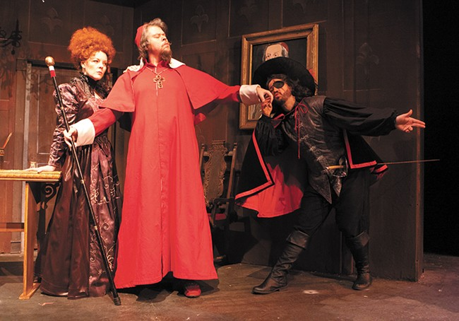 The Civic's production of Three Musketeers features all the intensity of the theater's take on Treasure Island last year. - MEGHAN KIRK