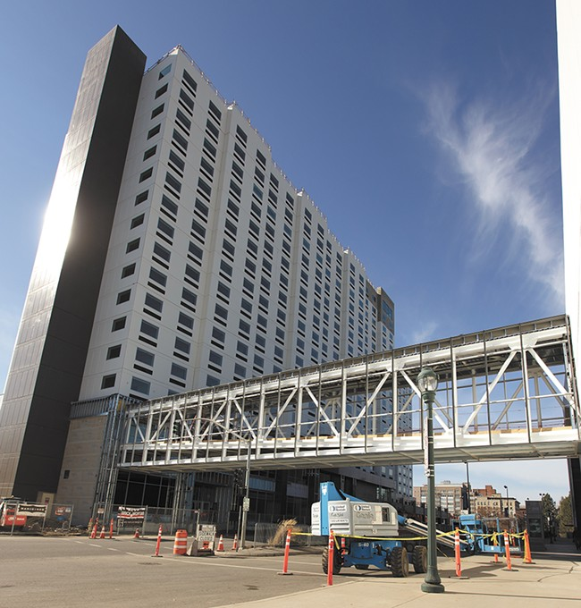 The Davenport Grand Hotel is scheduled to open in June. - YOUNG KWAK