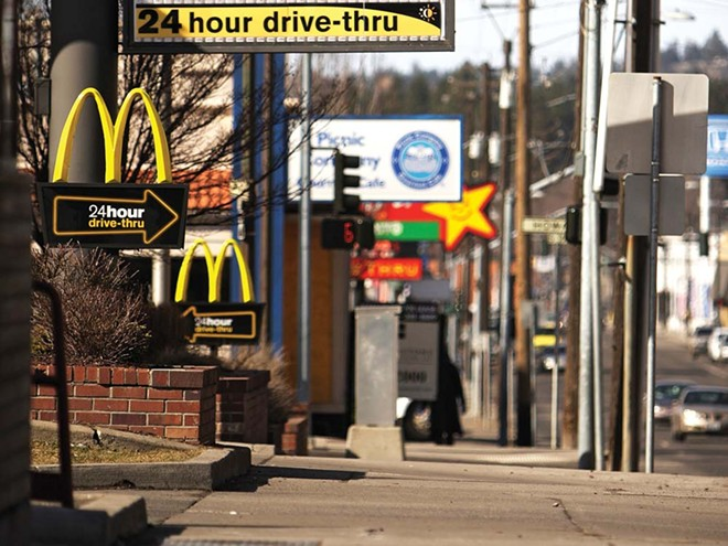 Downtown Spokane Fast Food