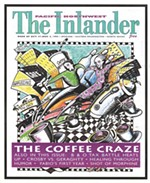 The first issue of the Inlander from October 27, 2013.
