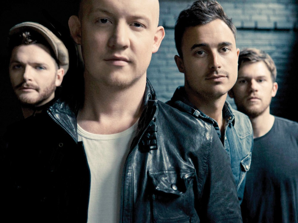 The Fray (from left): Ben Wysocki, Isaac Slade, Joe King, Dave Welsh
