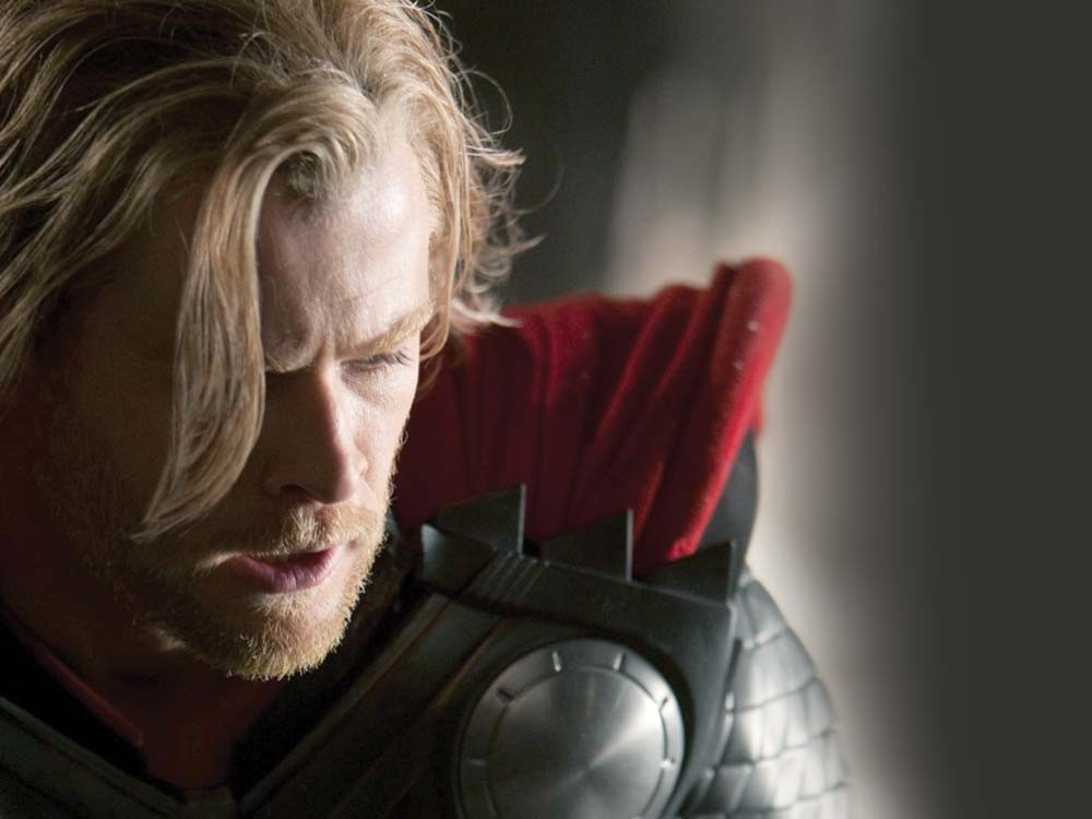 The god of thunder: fun to watch and easy on the eyes.