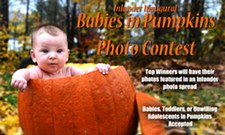 The Inlander's Inaugural Babies in Pumpkins Photo Contest