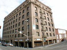 The Inlander's new home at the Hutton Building.