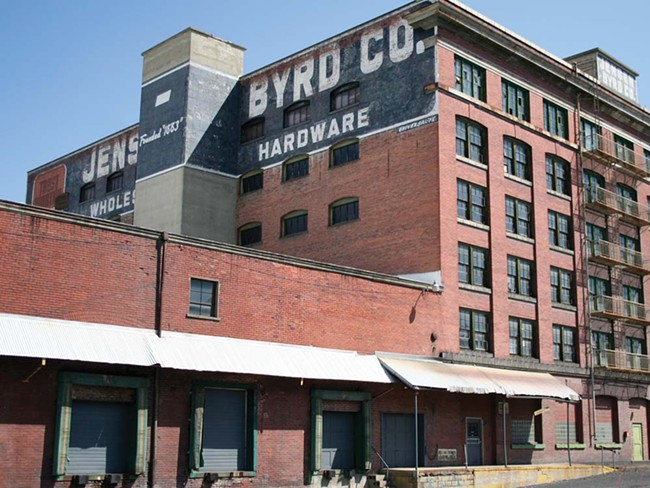 The Jensen-Byrd warehouse: Blight or beauty? - CHRIS BOVEY