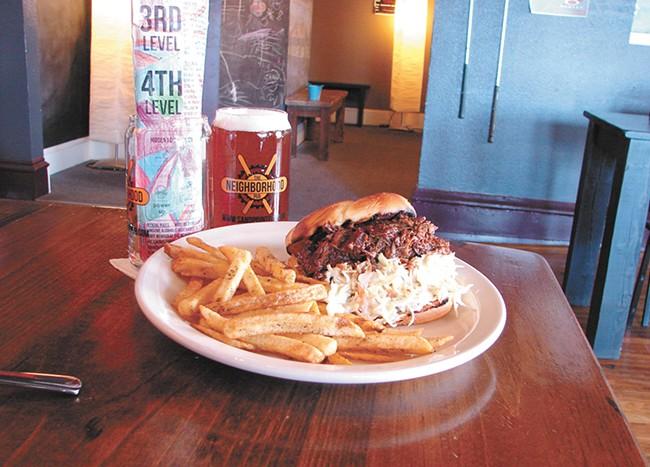The Kootenai Cubano sandwich from Neighborhood Pub. - CARRIE SCOZZARO
