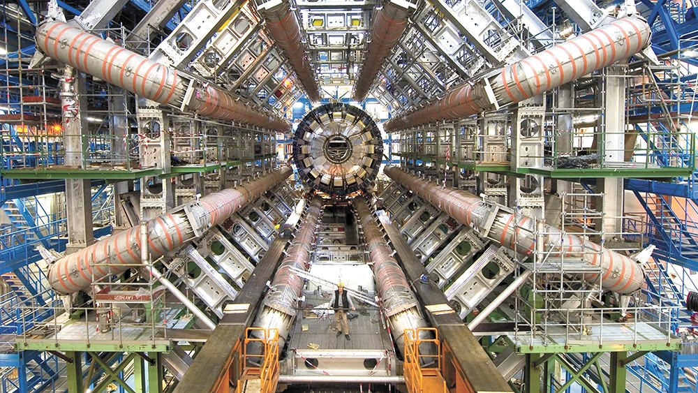 The Large Hadron Collider makes for a perfectly exciting documentary subject.
