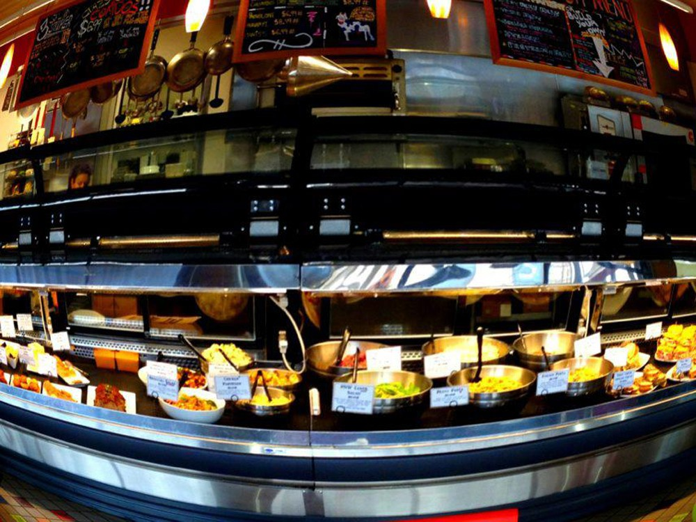 The Main Market posted this photo of their deli case on Facebook.