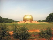 The Matrimandir in Auroville. - LISA WAANANEN
