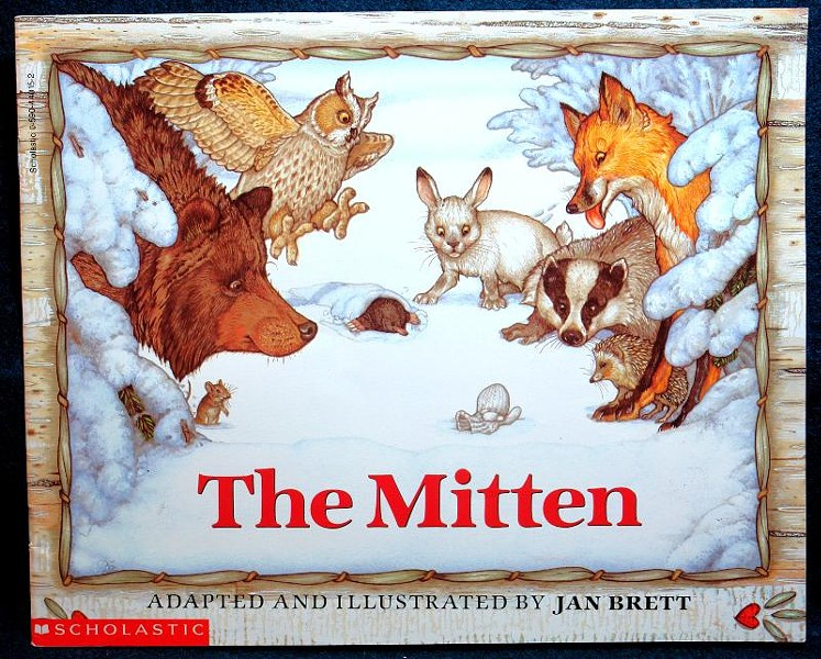 """The Mitten"" is of Brett's most recognized children's books."