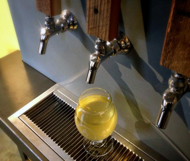 The new Liberty Ciderworks tasting room opens to the public this weekend at 164 S. Washington. - LIBERTY CIDERWORKS