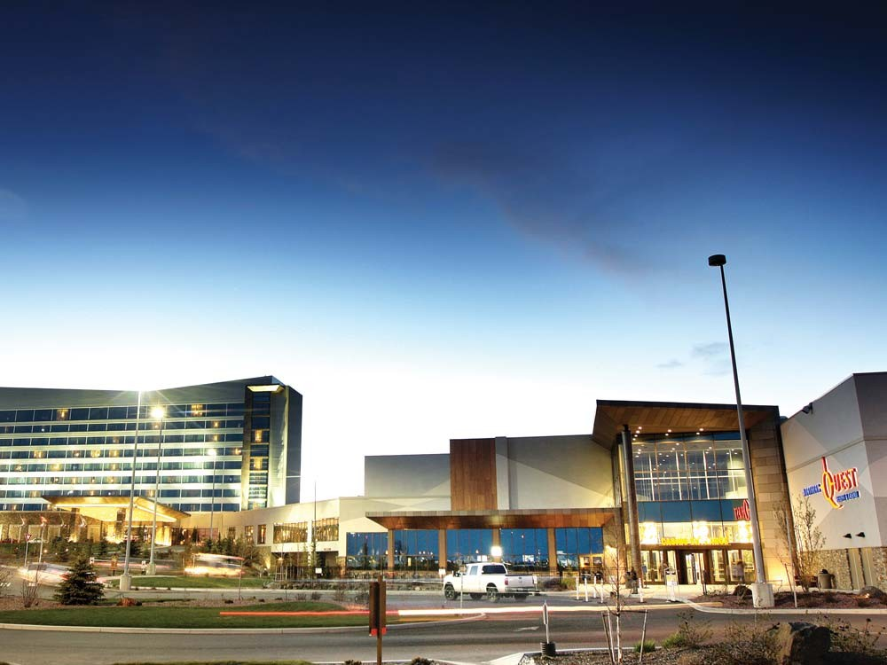 The newly expanded Northern Quest Casino, operated by the Kalispel tribe. - YOUNG KWAK