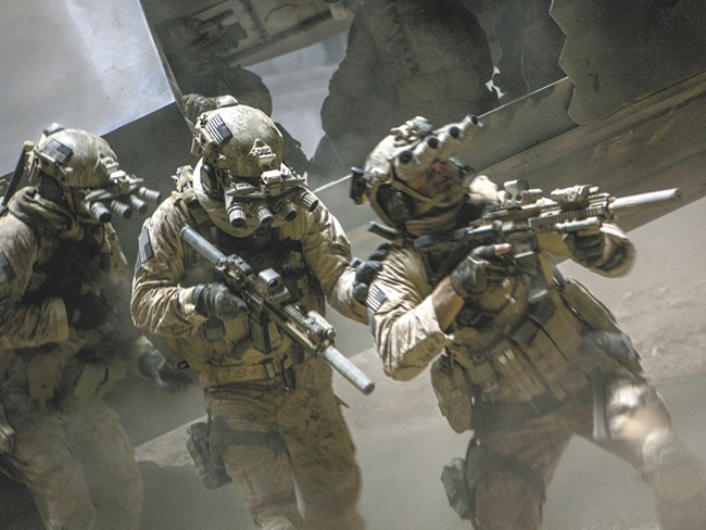 The raid scene of Zero Dark Thirty is  high-action cinema, but hardly the most compelling aspect of the film.