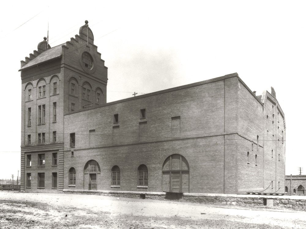 The Schade Brewery, seen here in 1920, is now used as office space. - |MAC/EASTERN WASHINGTON STATE HISTORICAL SOCIETY