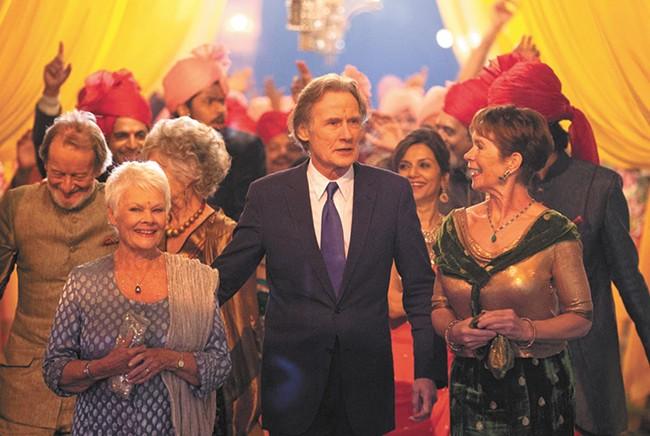 The seasoned, accomplished cast of Marigold Hotel.