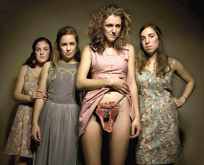 The Seattle-based group, Chastity Belt, may sing about vaginas, but they take music seriously.