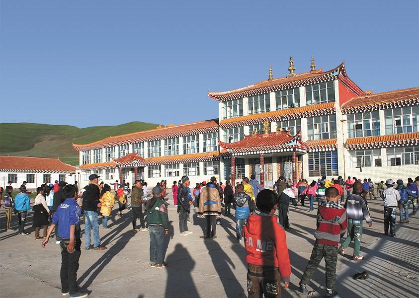 The Sengdruk Taktse School in Eastern Tibet, founded by Lama Lakshey Zangpo. - LAMA LAKSHEY ZANGPO
