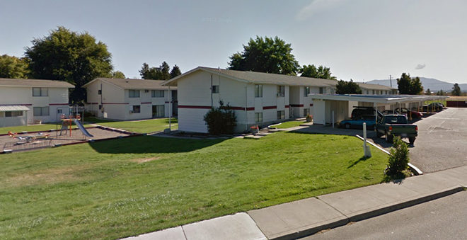 The Somerset Meadows apartments in Spokane Valley. - GOOGLE STREET VIEW