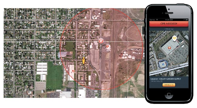 The Spokane Fire Department has begun using Pulsepoint, which notifies people who have the app when someone nearby is experiencing cardiac arrest so they can respond.