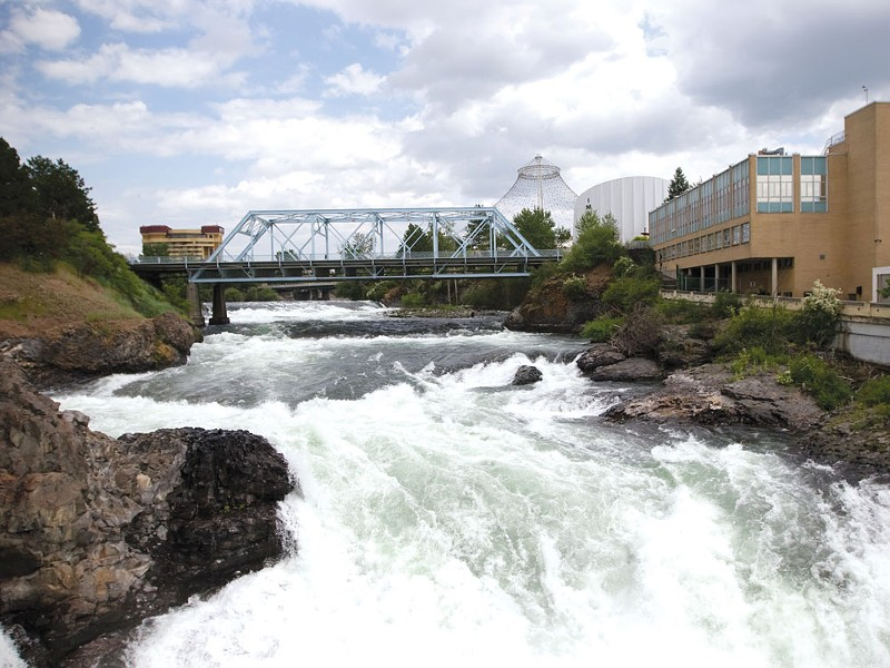 The Spokane River - GLEN LANDBERG