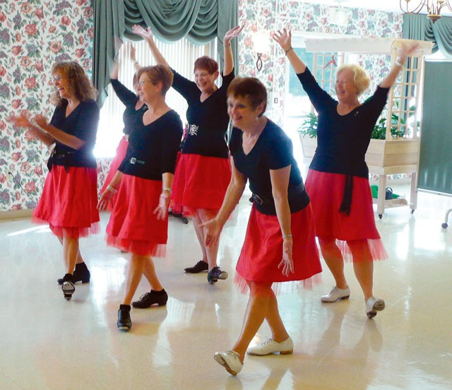 The Spring Chicks are one of the singing groups organized by Project Joy in Spokane. - LYNN EDMONSEN