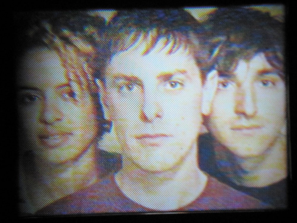 The Thermals (L to R): Kathy Foster, Hutch Harris and Westin Glass