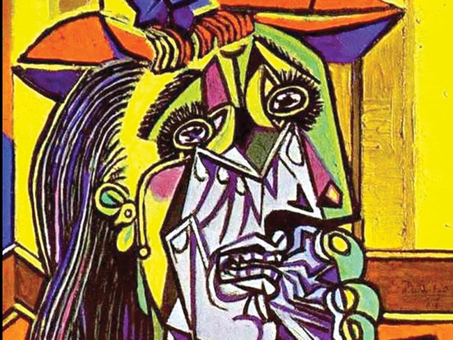 PICASSO'S 'WEEPING WOMAN'