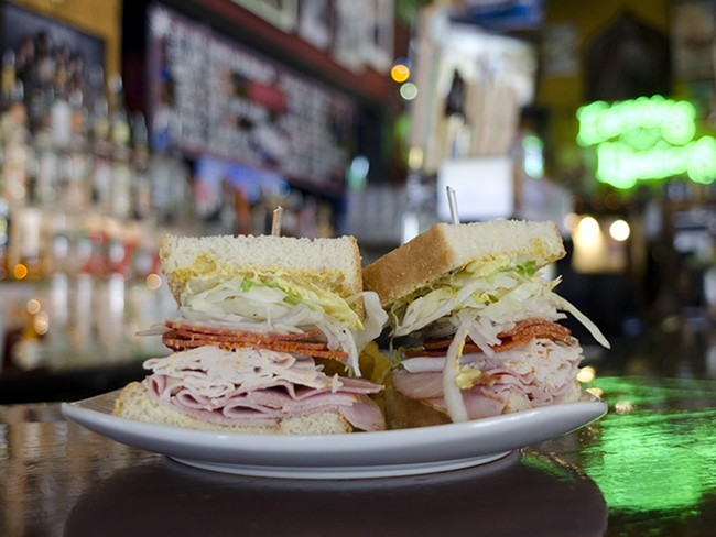 The Wreck is one of the Blue Spark's new sandwiches. - JACOB JONES