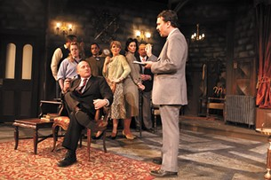 The cast of The Mousetrap at the Civic. - MEGHAN KIRK