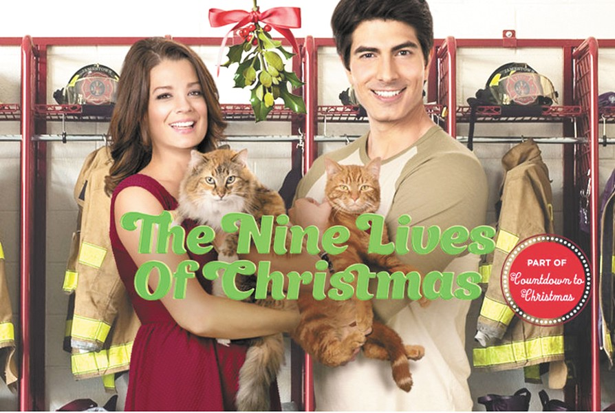 This is a real movie. See it Saturday night at 6 pm on the Hallmark Channel.