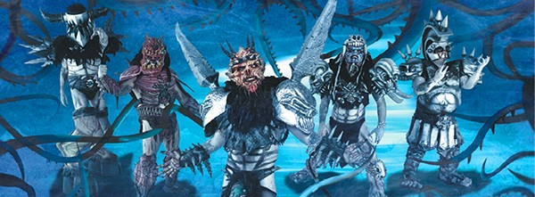 This metal band of Scumdogs, as Gwar refers to themselves as, wants to destroy humanity with their music.
