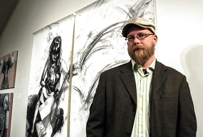Thom Caraway: Spokane's first poet laureate.