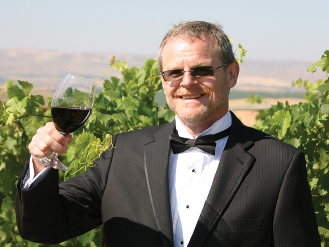 Thomas Henick-Kling, director of WSUs viticulture and enology program - BRIAN CLARK