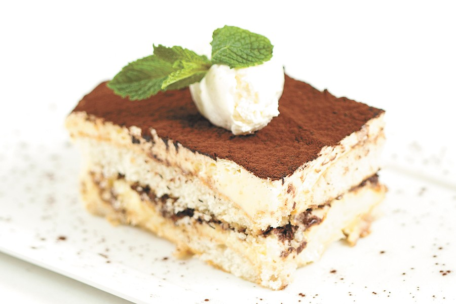 Tiramisu from Downriver Grill