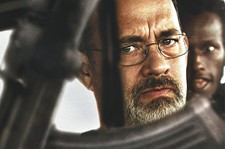 Tom Hanks plays the real-life captain of a cargo ship held hostage by pirates.