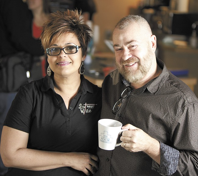 Tonia and Rob Bryceson, owners of the Gathering House. - YOUNG KWAK