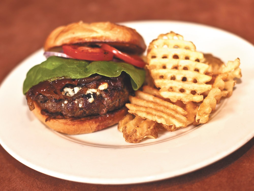 Try the DRG\'s chipotle barbecue burger. - JORDAN BEAUCHAMP