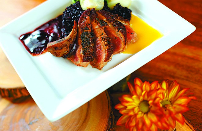 Try the duck from Scratch at a discount