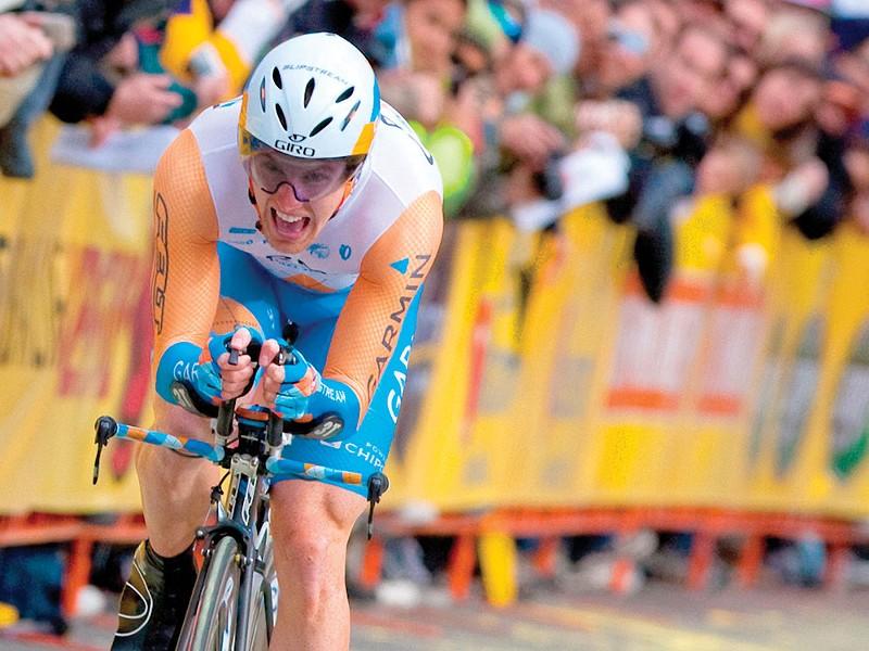 Tyler Farrar at last year's Tour de France