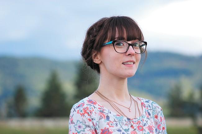 Anime-loving artist Alli White works under the name Skirtzzz. - QUINN WELSCH PHOTO