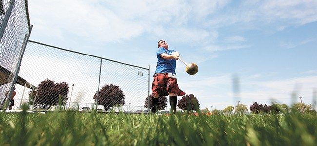 The Spokane Scottish Highland Games are on Saturday, Aug. 4.
