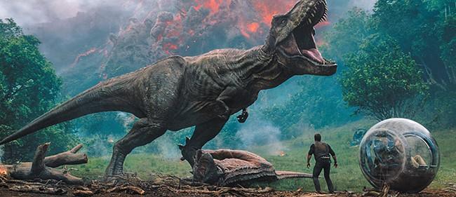 Warning: Dinosaurs may bite.