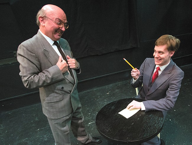 Time is running out to see the Playwrights' Forum Festival at the Spokane Civic Theatre. - JEFF FERGUSON PHOTO
