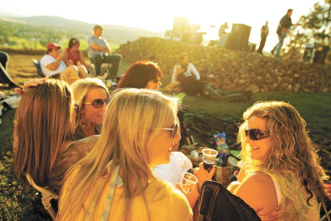 Arbor Crest Winery hosts outdoor summer concerts on Thursdays and Sundays. - YOUNG KWAK