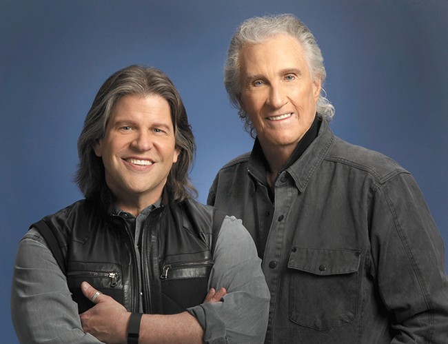 Soul and inspiration: Bill Medley (right) and his duet partner Bucky Heard breathe new life into the Righteous Brothers' classic hits.