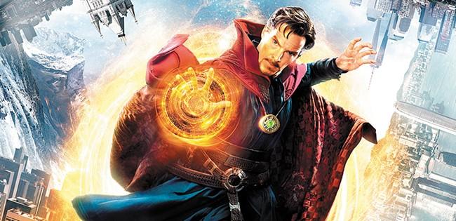 Marvel gets full-on weird in Doctor Strange.
