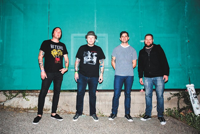 Remember where you were in 2003? The Ataris do, and they're riding a wave of nostalgia to the Big Dipper.